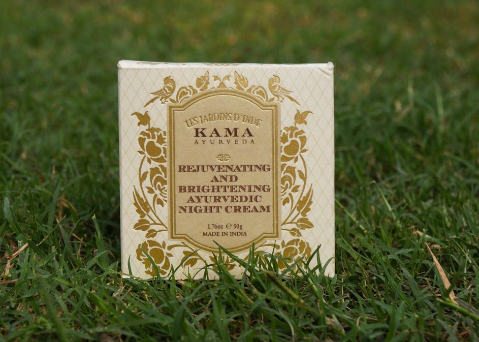 Kama Ayurveda Night Cream Packaging
