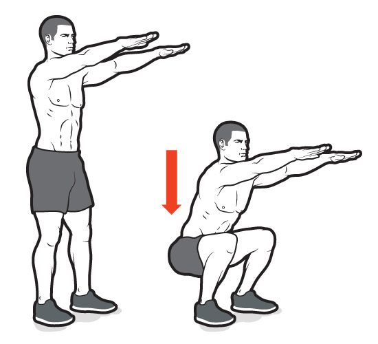 body-weight-squats