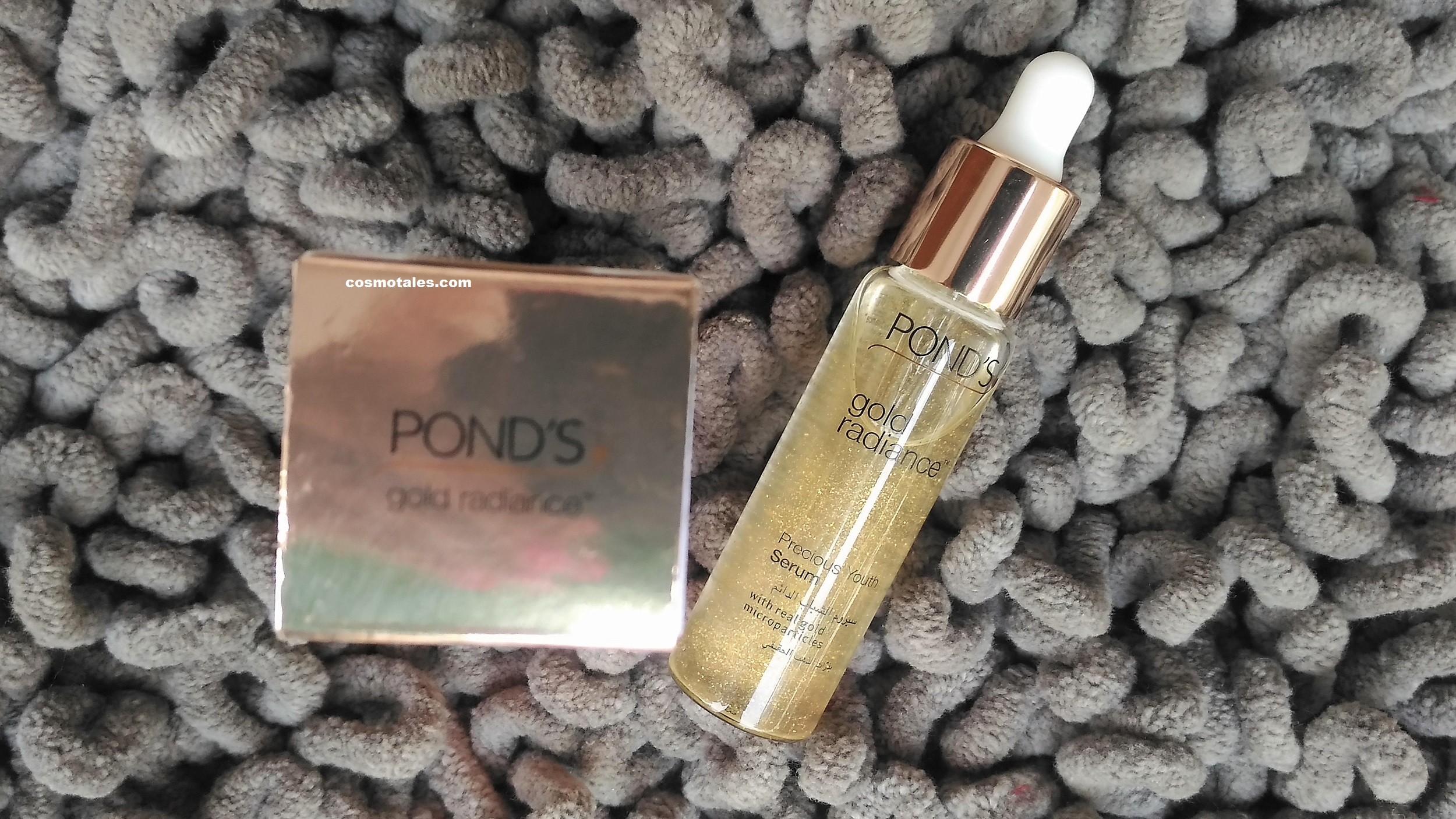 Ponds Gold Radiance Precious Youth Serum Review Flawless White Ultra Luminous 30ml