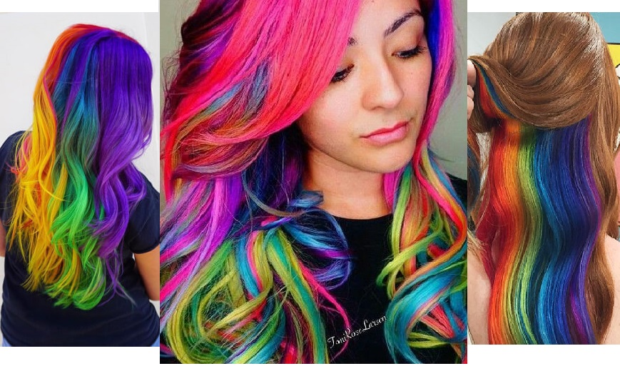 Rainbow Hairs Are The Next Big Instagram Hair Trend