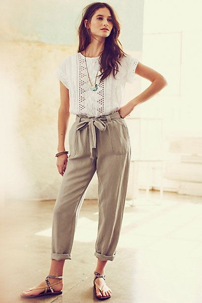 women pants, lenin pants, women casual