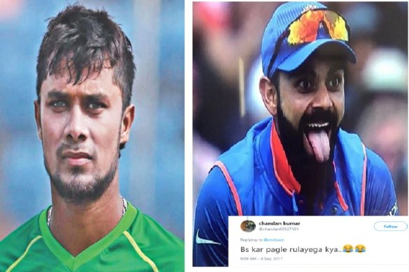 shabbir rahman, indian cricketers, virat kohli