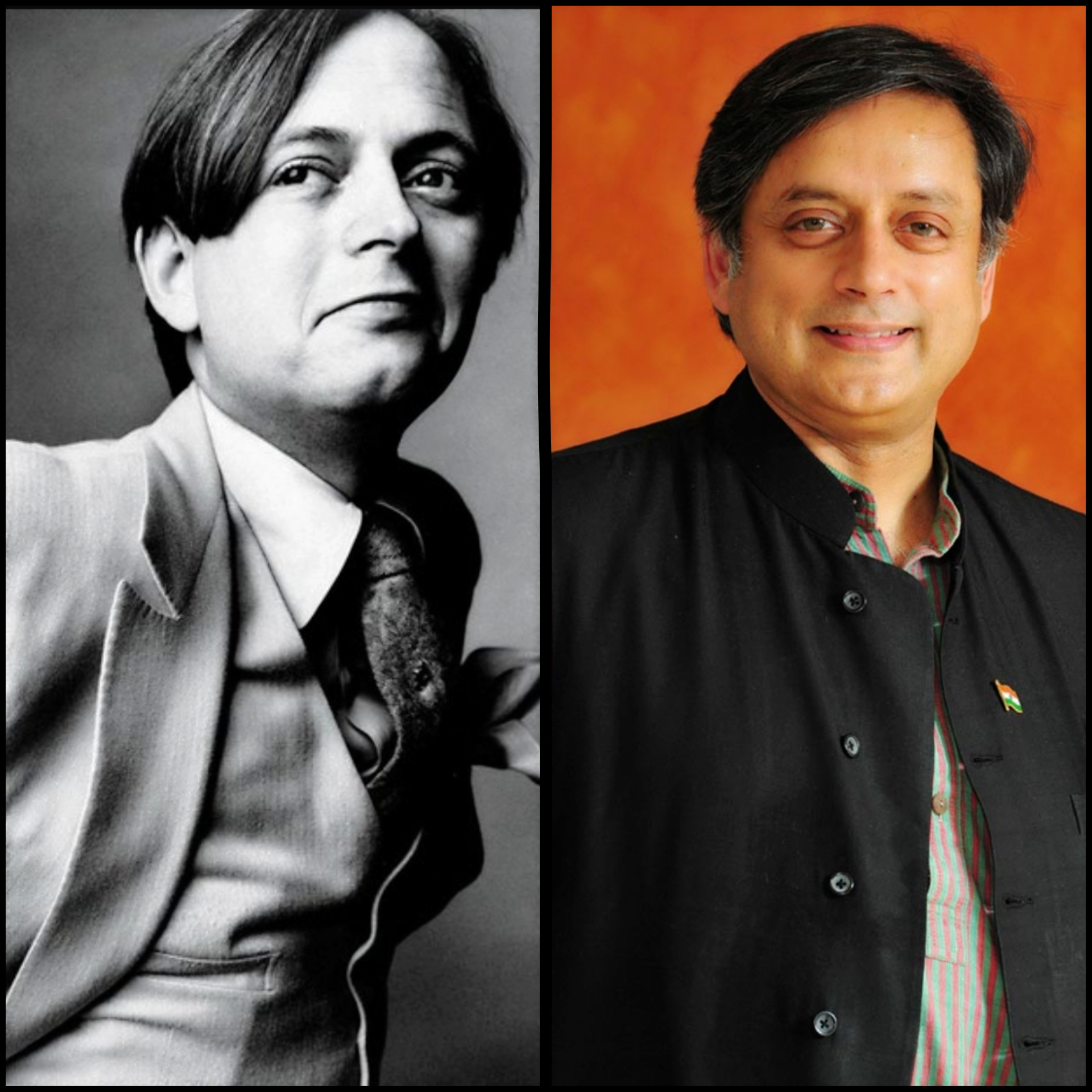 shashi tharoor, Indian Politicians, politics, unseen pictures, rare pictures,vintage pictures of Indian Politicians