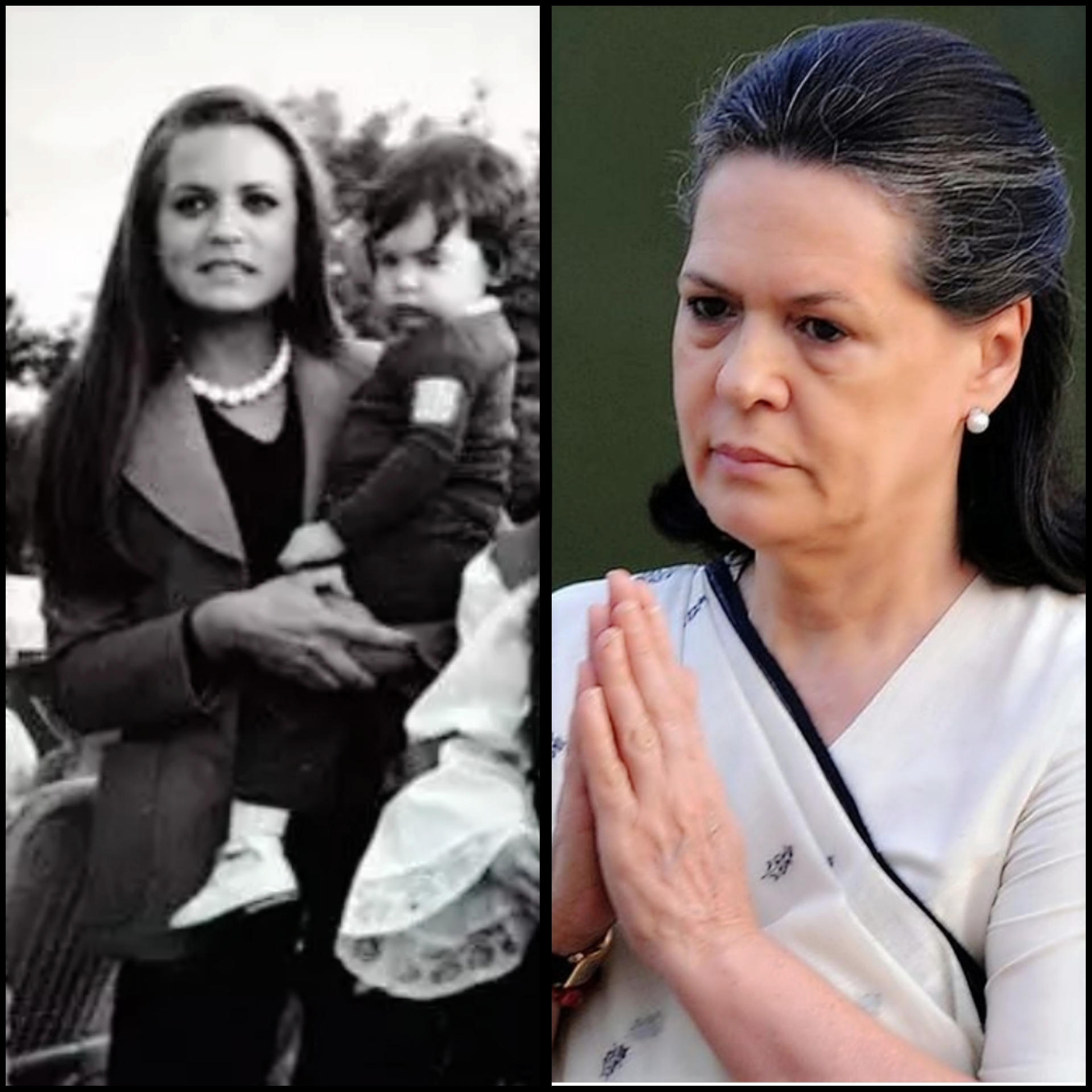 sonia gandhi, Indian Politicians, politics, unseen pictures, rare pictures,vintage pictures of Indian Politicians