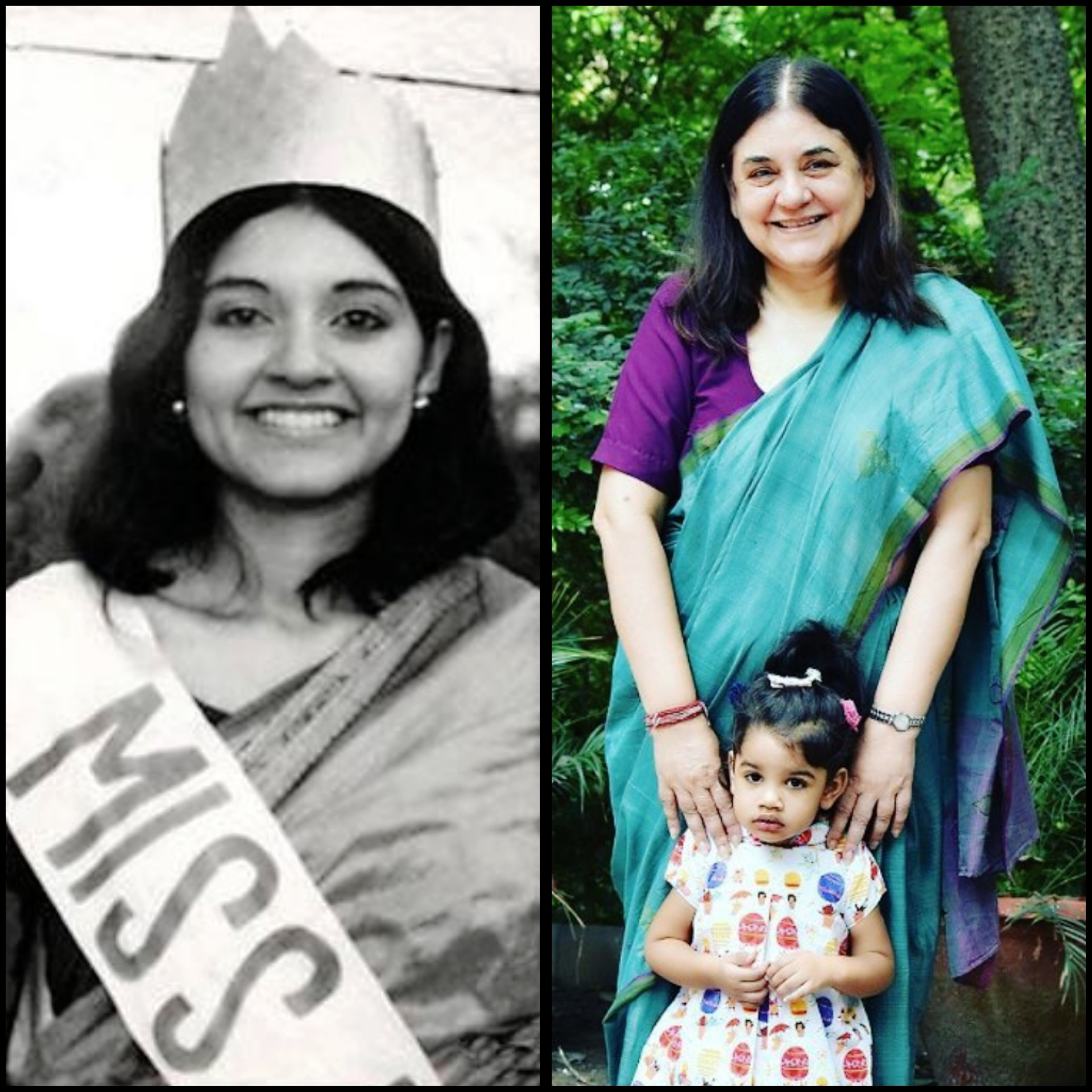 maneka gandhi, Indian Politicians, politics, unseen pictures, rare pictures,vintage pictures of Indian Politicians