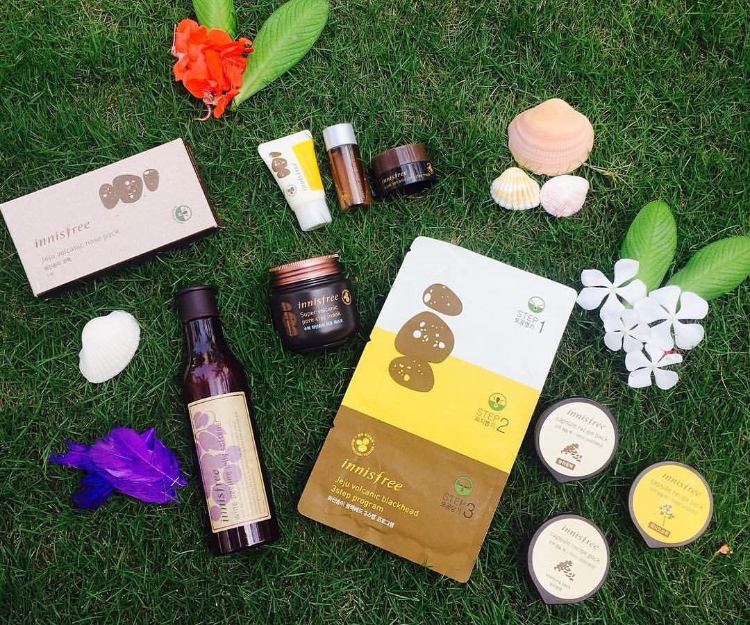 best Innisfree products, natural products