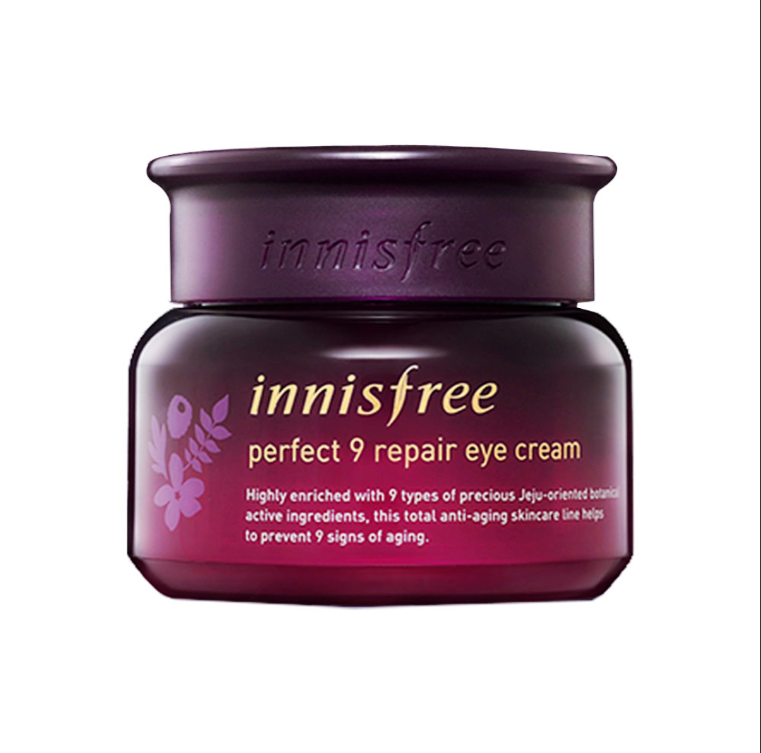eye creams, dark circles, wrinkles, skin care, eye care, innisfree eye cream
