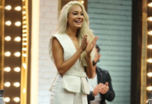 Lisa Haydon, lisa haydon's hair color, platinum blonde, Daniel Bauer