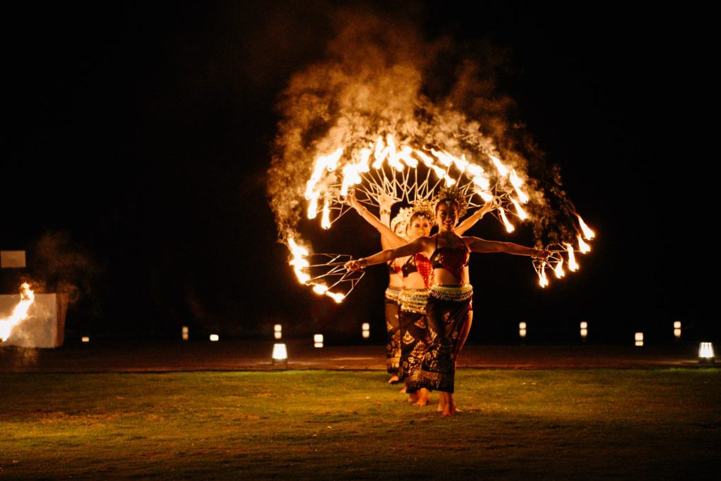 fire dance bali, bali traditional dance